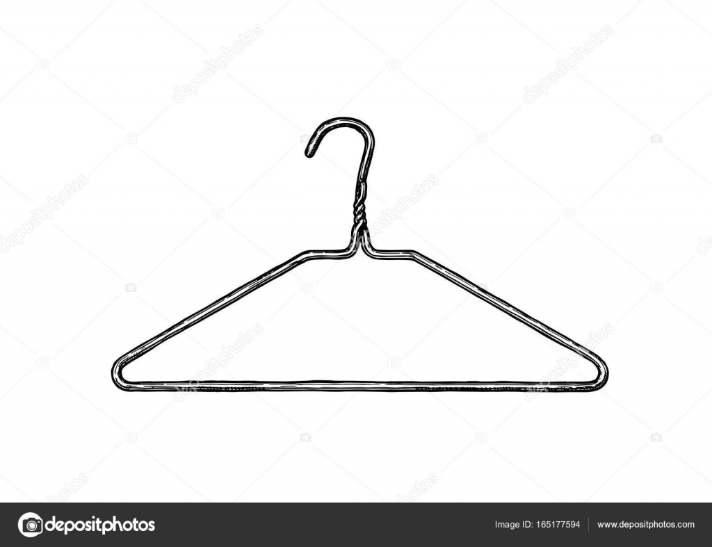 Illustration der Kleiderbügel — Stockvektor © suricoma #165177594