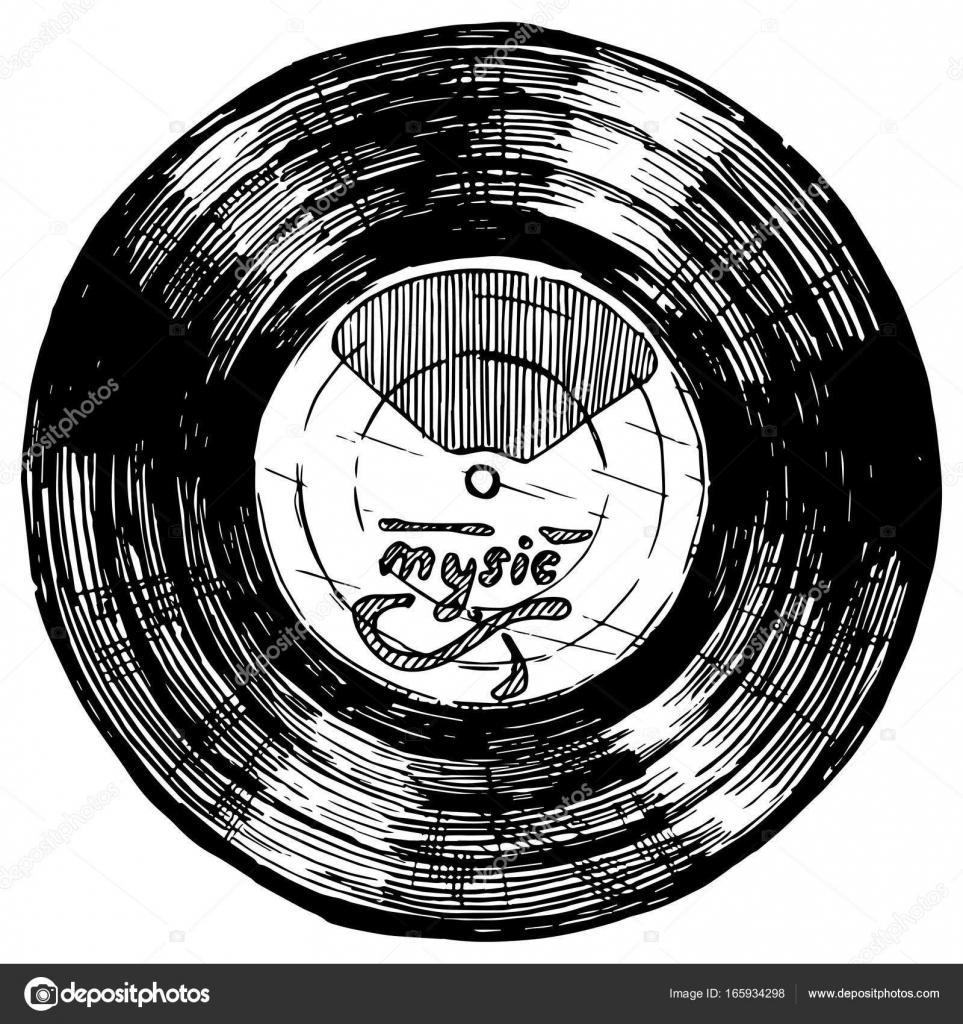 Vector Illustration Of Vinyl Record Stock Vector C Suricoma 165934298