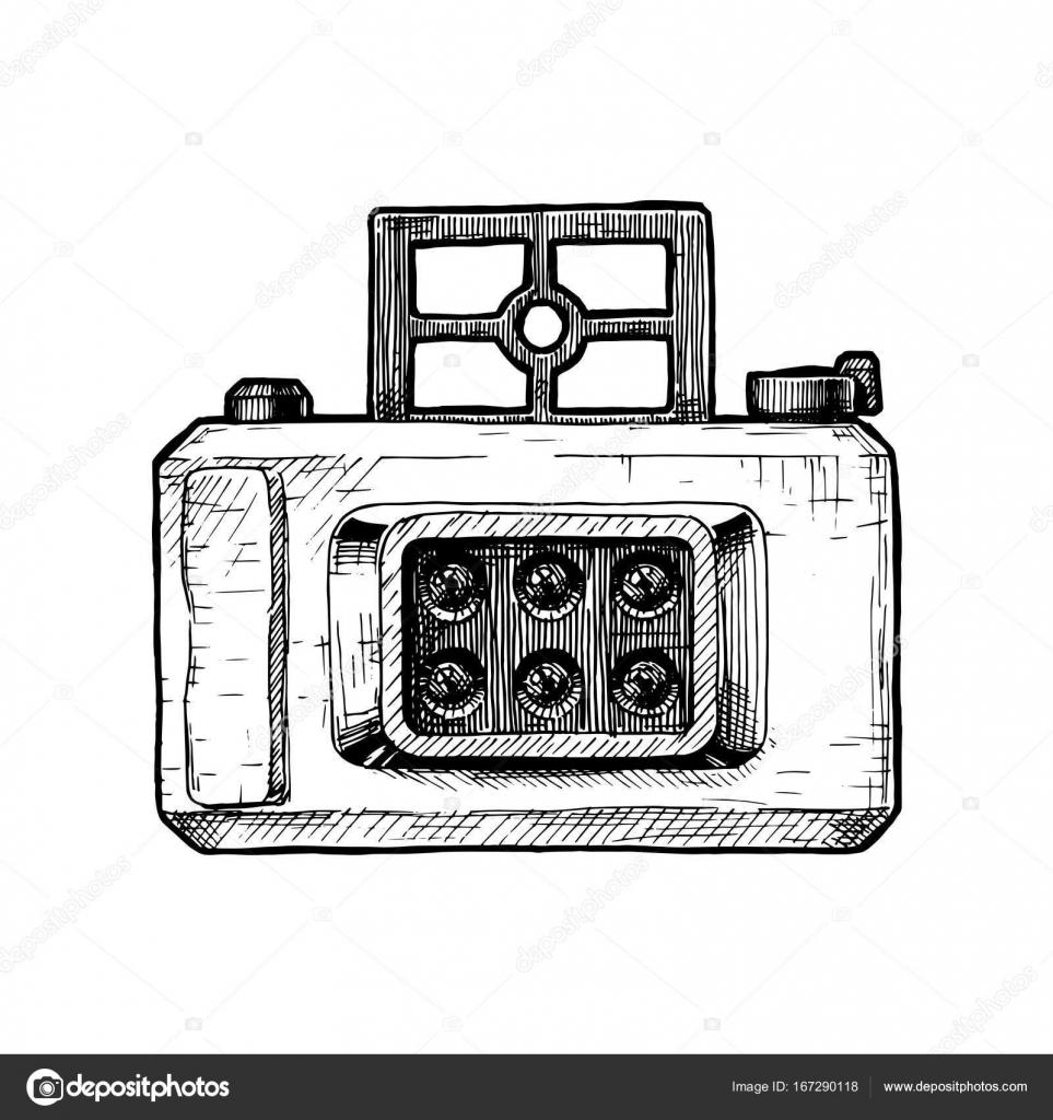 Multi-Linsen-Kamera — Stockvektor © suricoma #167290118