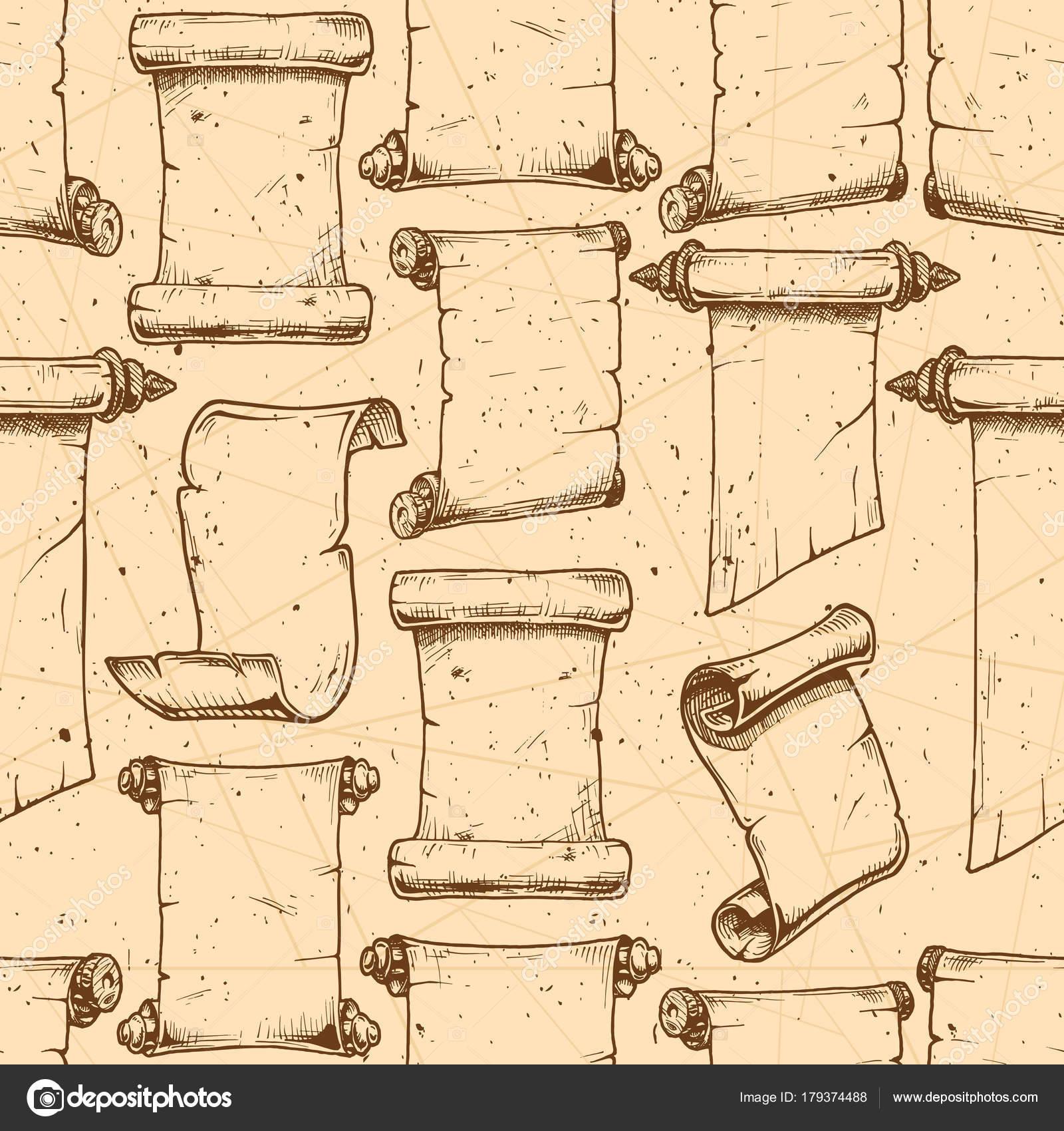 Ungewöhnlich Alte Scroll Vorlage Ideen - Beispielzusammenfassung ...