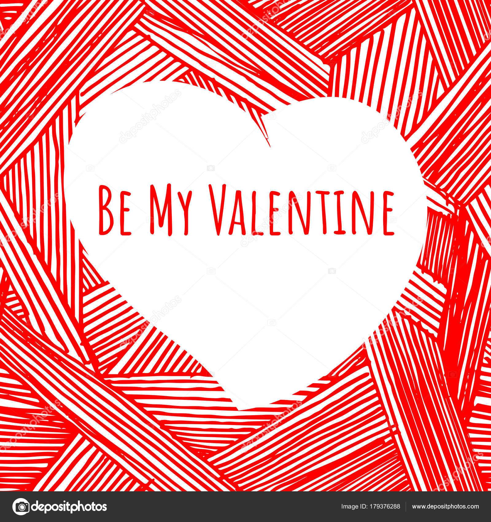 Valentine Herzen. Vorlage — Stockvektor © suricoma #179376288