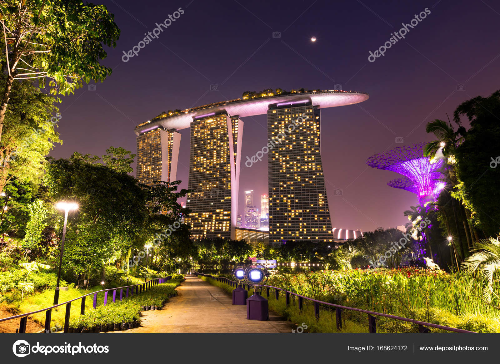 Gardens by the Bay in Singapore – Stock Editorial Photo ...