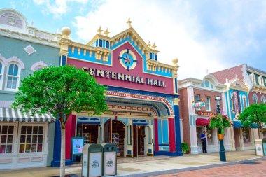 Main Street, U.S.A. in Hong Kong Disneyland