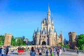 Čiba, Japonsko: Pohled Tokio Disneyland Popelka hrad