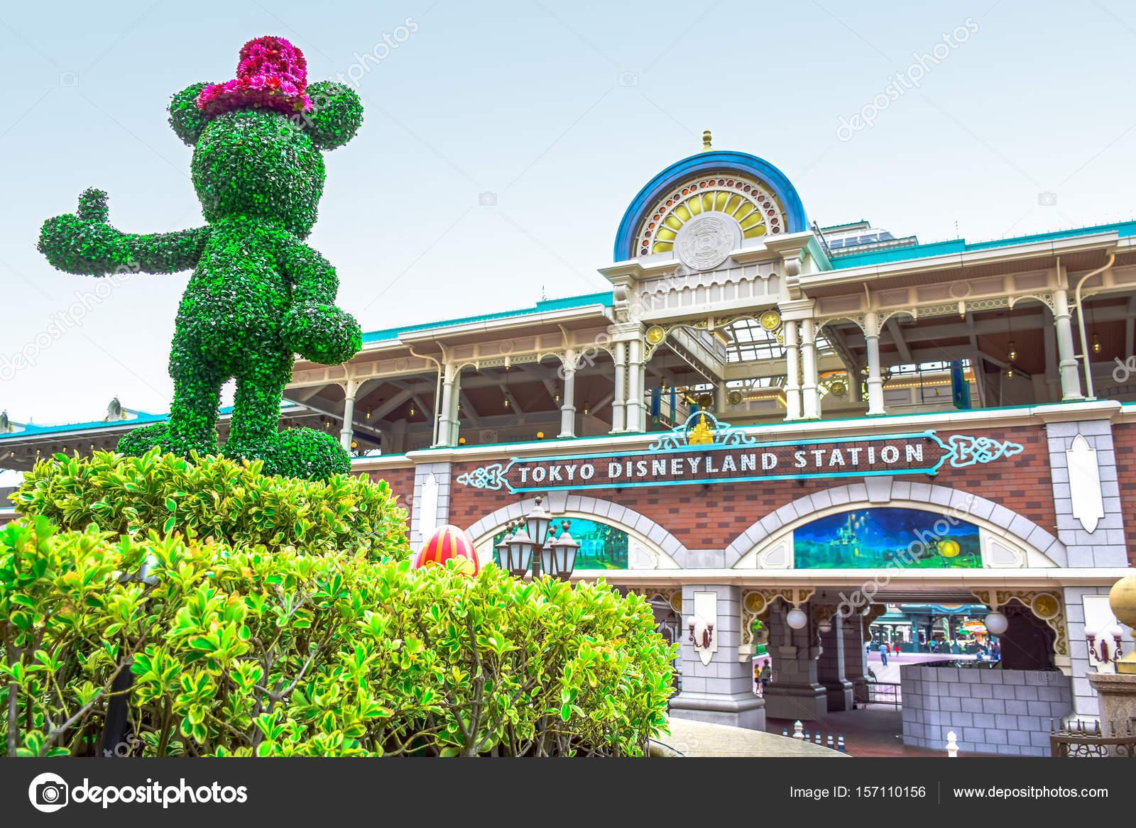 千葉県東京ディズニーランド リゾート モノレール駅、浦安、千葉、日本