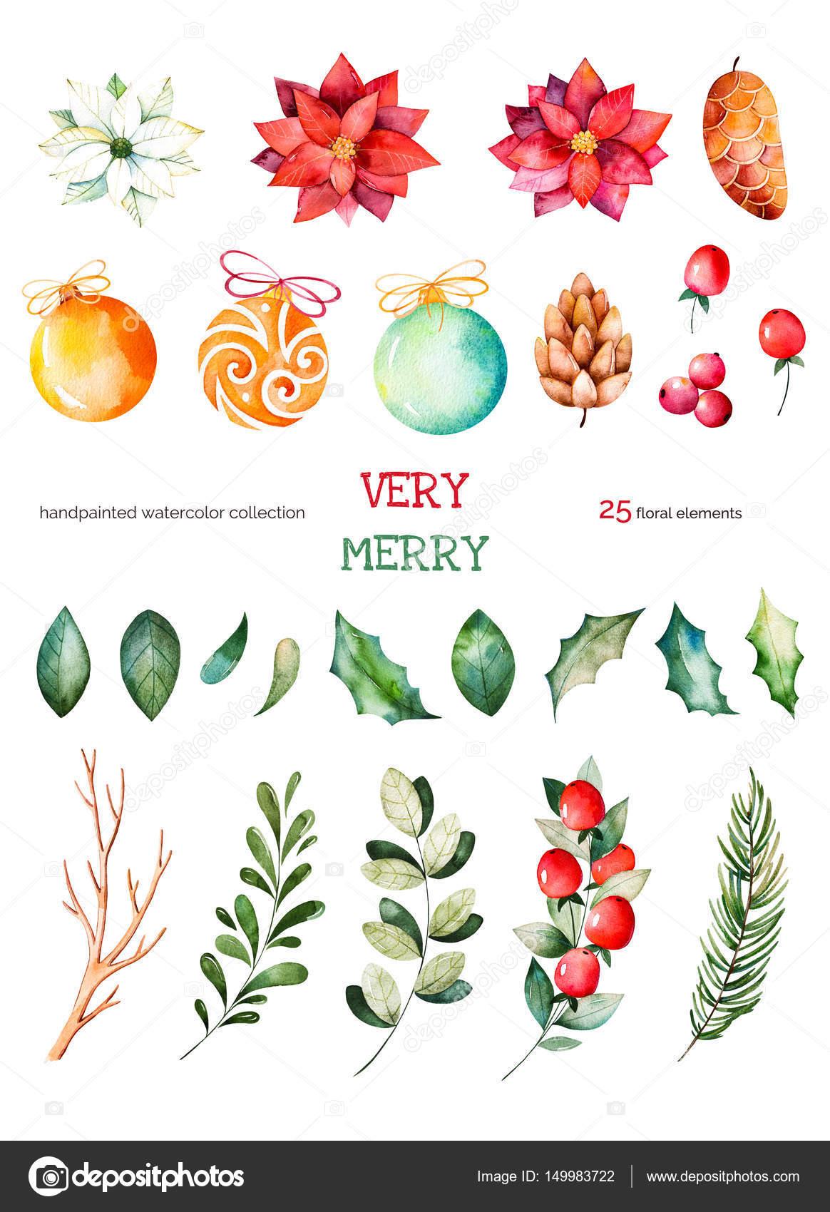 Weihnachten und Neujahr-Auflistung — Stockfoto © Katerina_Skorik ...