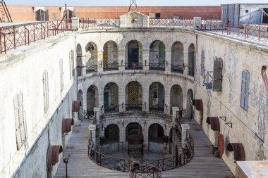 Interior of Fort Boyard in France, Charente-Maritime, France - Europe