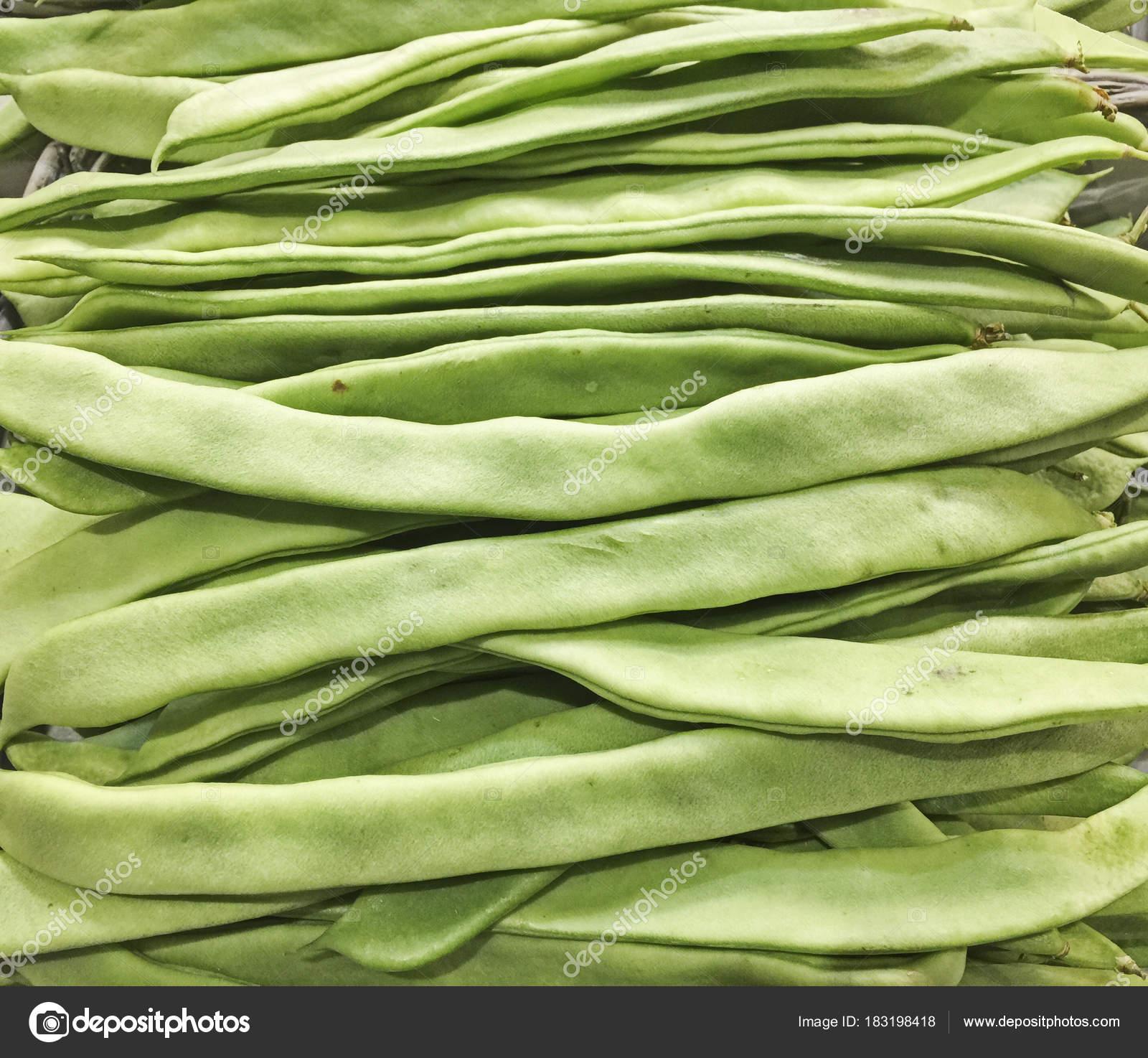 stora gröna bönor