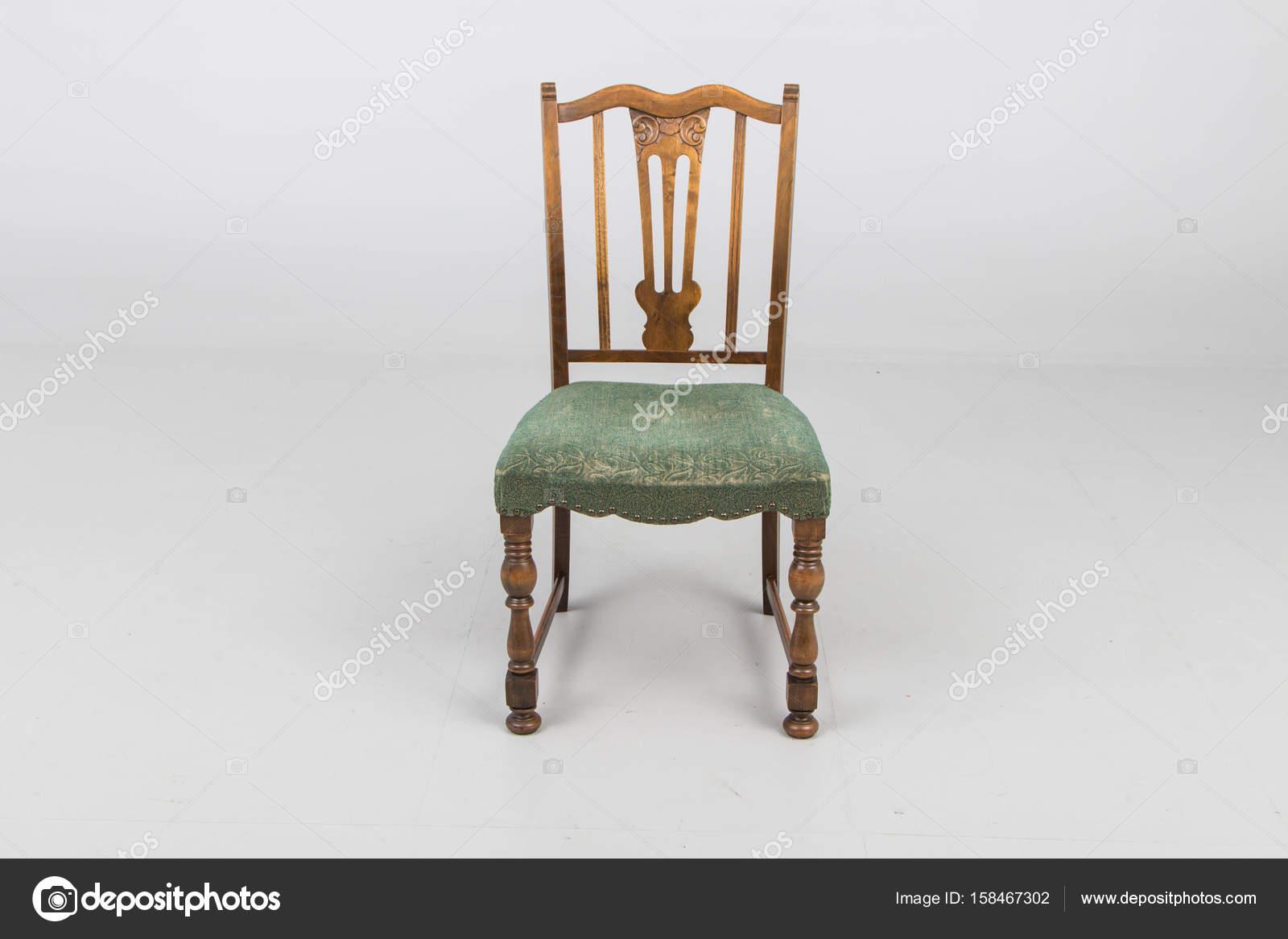 Sedie legno antico poltrona u foto stock jbgroup