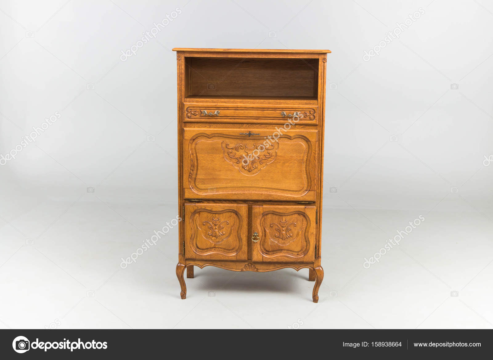 Commodes Antique Wood Stock Photo