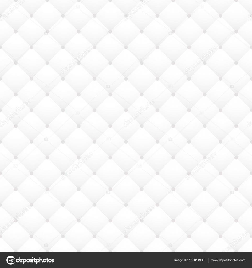 Tapicería de cuero blanco vector de patrones sin fisuras. Piel ...