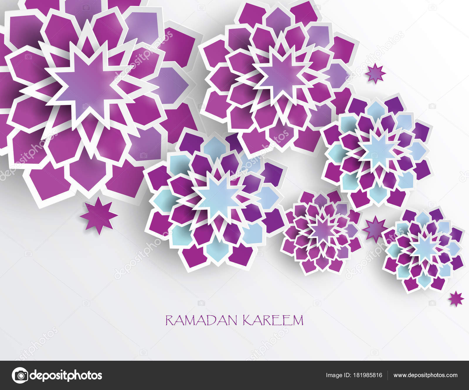 Greeting card intricate arabic paper graphic islamic geometric art greeting card intricate arabic paper graphic islamic geometric art ramadan stock vector m4hsunfo