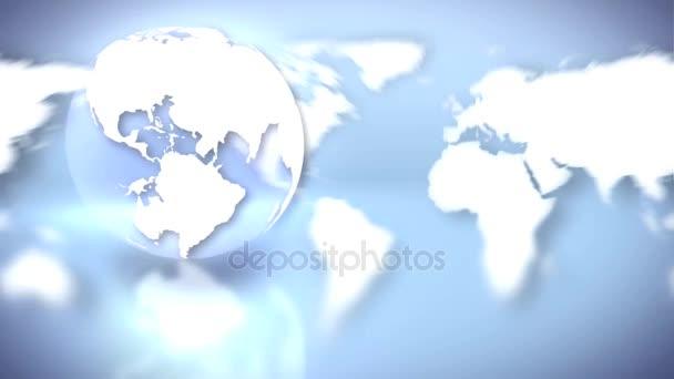 Erdwelt und Globus Hintergrund