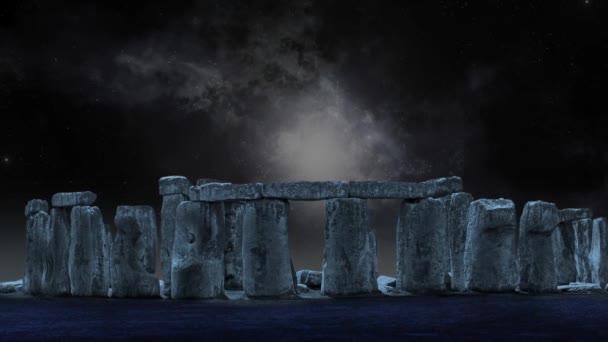 Stonehenge animované pozadí