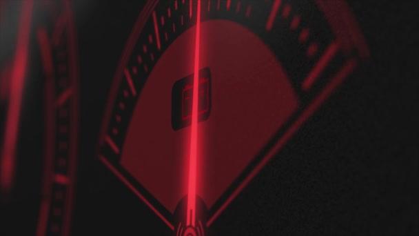 Üzemanyag-mérő vörös hud