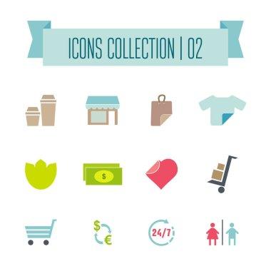 Vector buttons,  icons set vector. Web symbols set icon