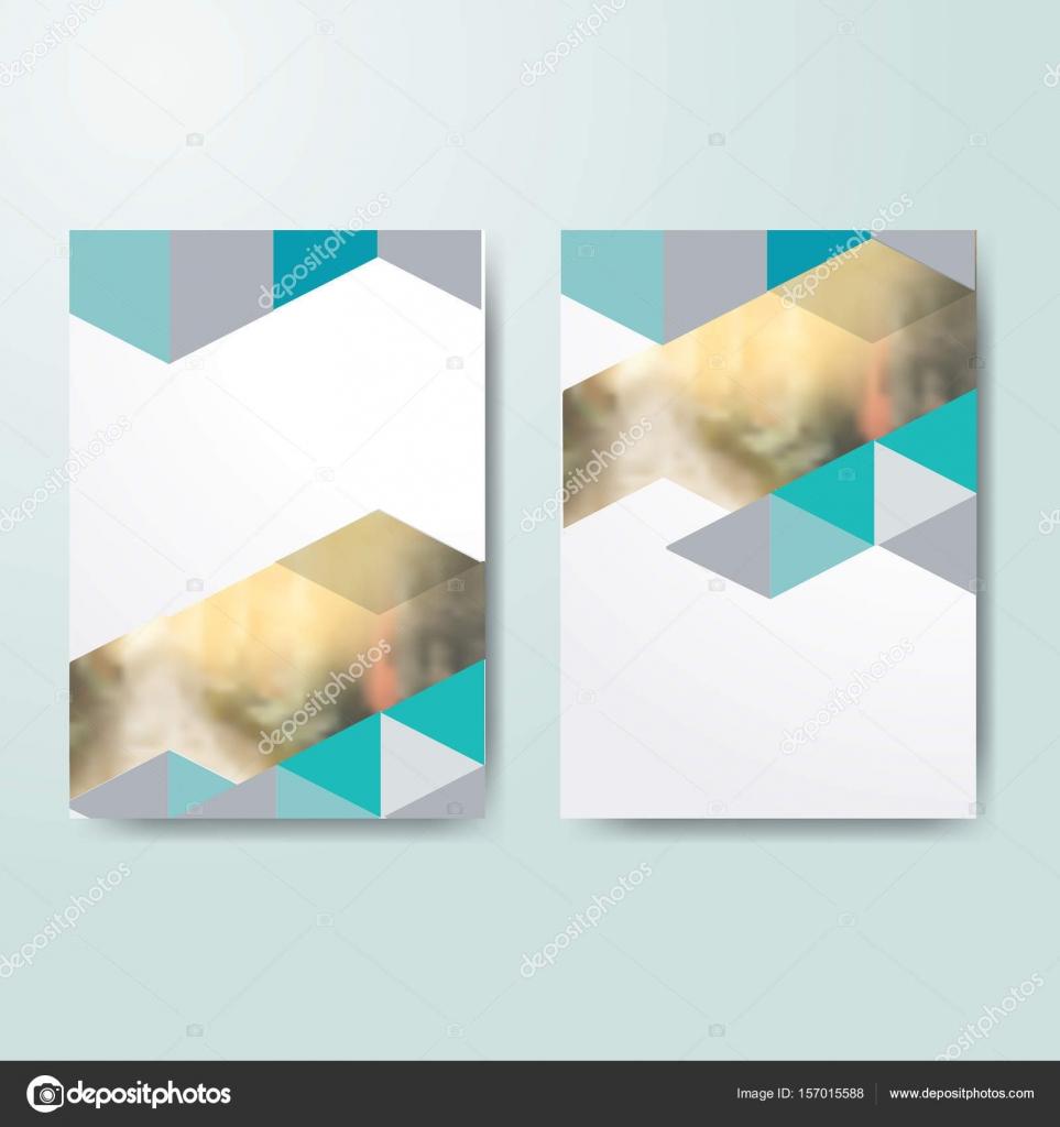Buch-Cover-Design-Vorlagen — Stockvektor © Wildrabbit #157015588