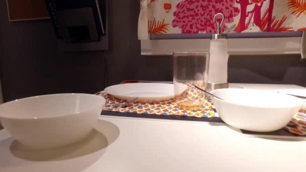 Table setting. Preparation for dinner u2014 Stock Video & Table setting. Preparation for dinner u2014 Stock Video © mailjast1 ...