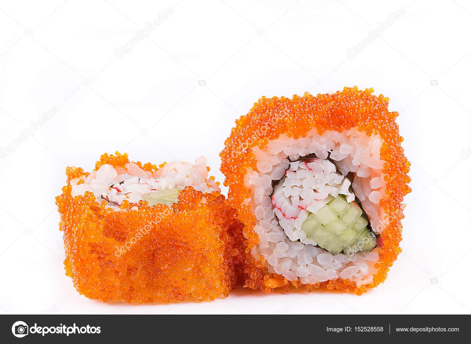 Cucina Giapponese Sushi Set Sushi E Sushi Rotoli In Caviale Con