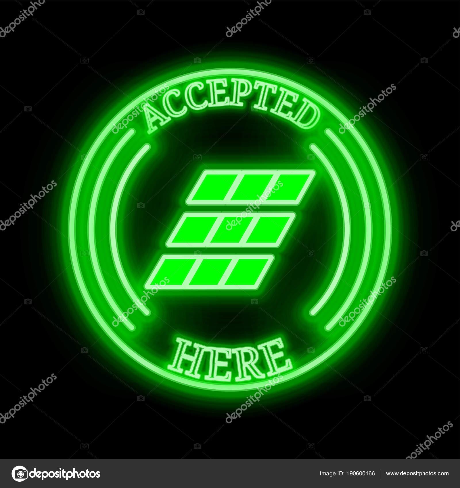 Einsteinium Emc2 Accepted Here Sign Stock Vector Titan81