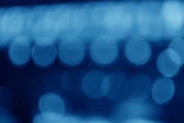 Blurred background of light spots