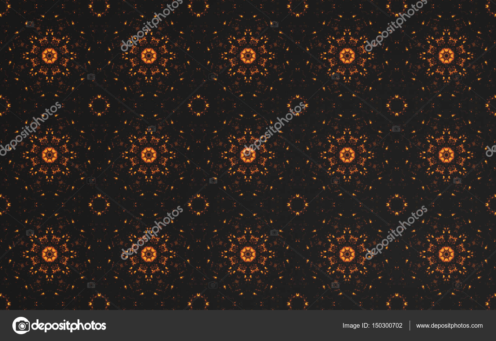 Abstract Luxury Dark Gold Pattern Background And Circle