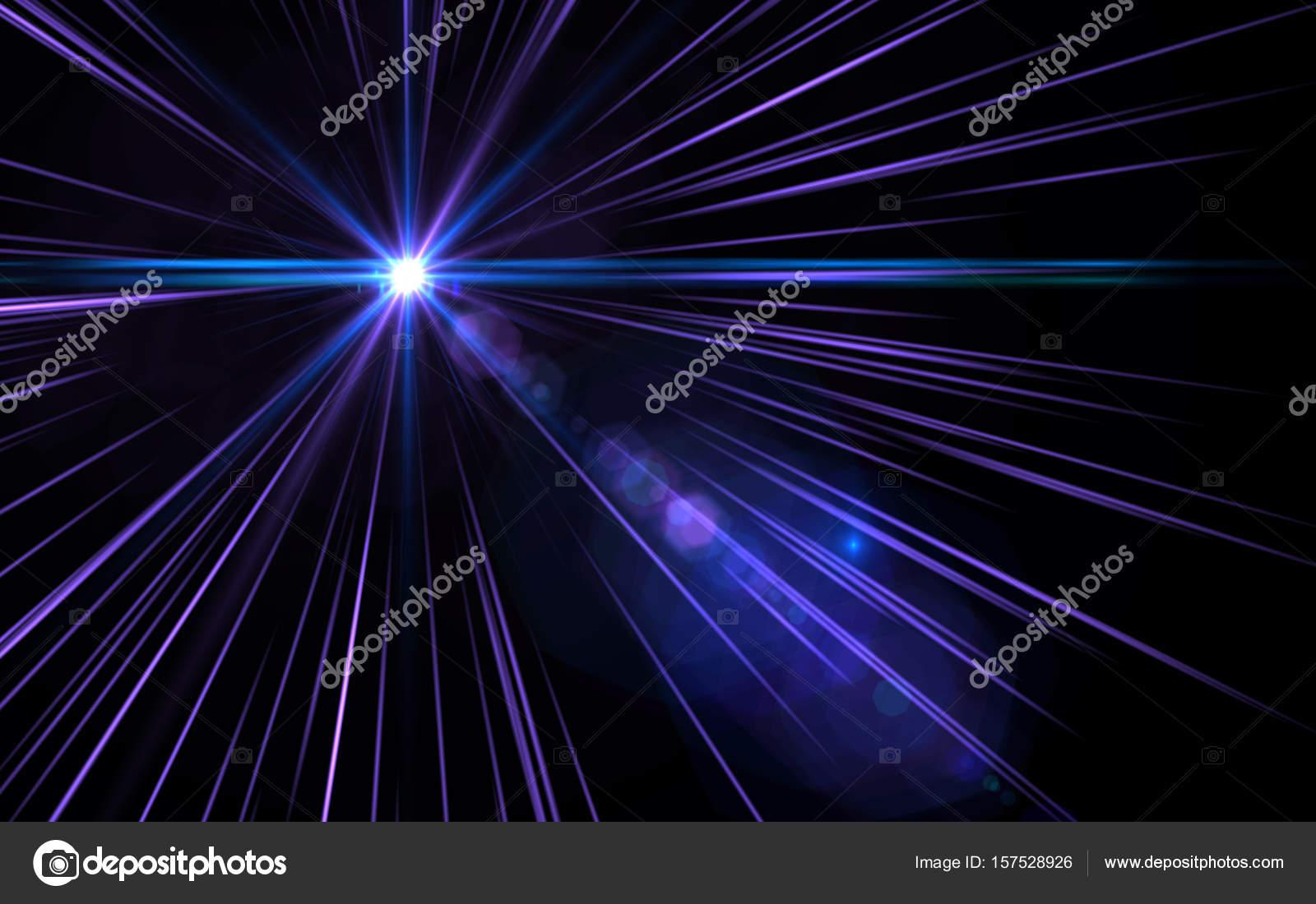 Objetivo Resumen de la llamarada velocidad violeta luz sobre fondo ...