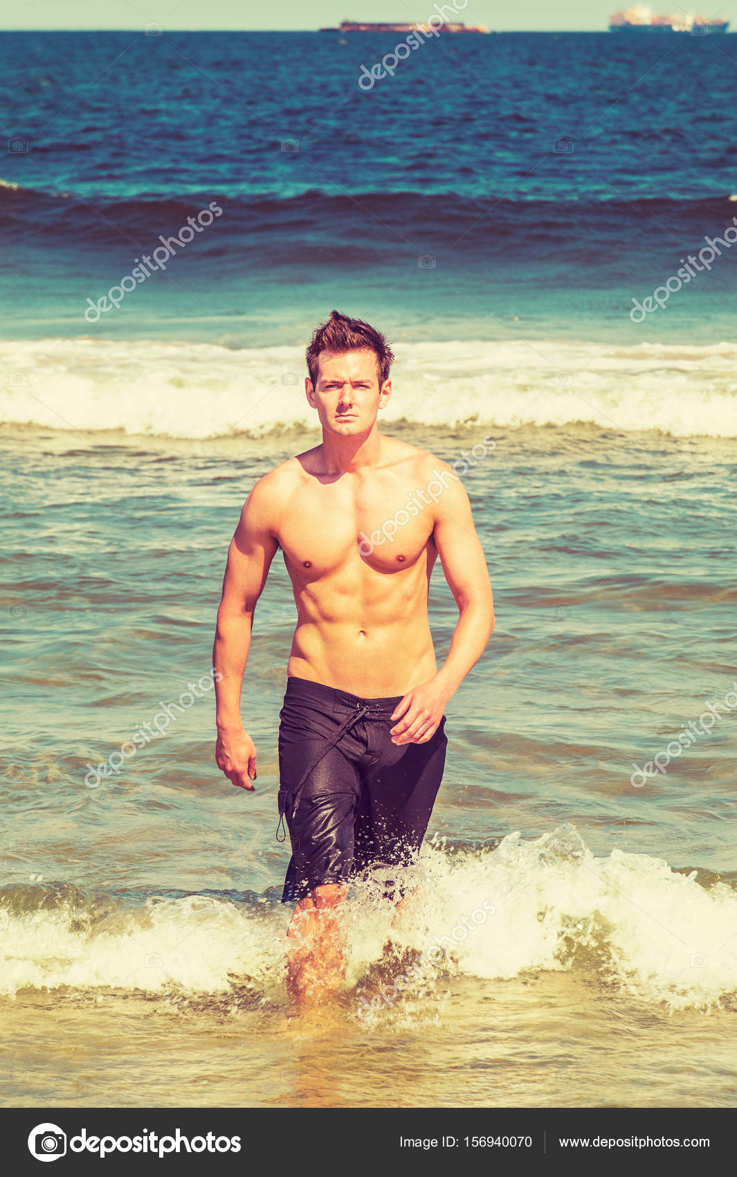 Naked young men on beach, fake nudes sandra bullock