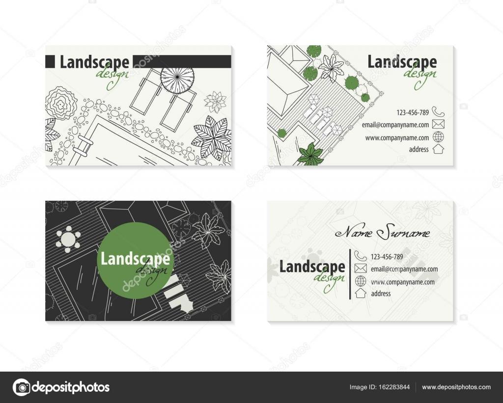 Carte De Visite Dun Architecte Image Vectorielle