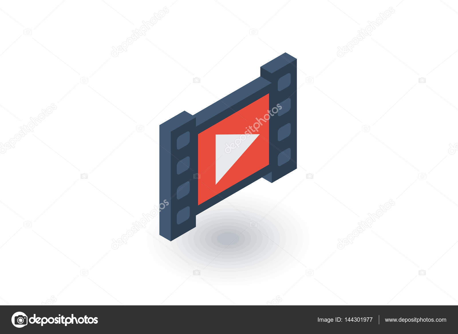 video frame icon — Stock Vector © r.Hilch #144301977