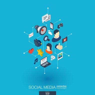 Social Media web icons.