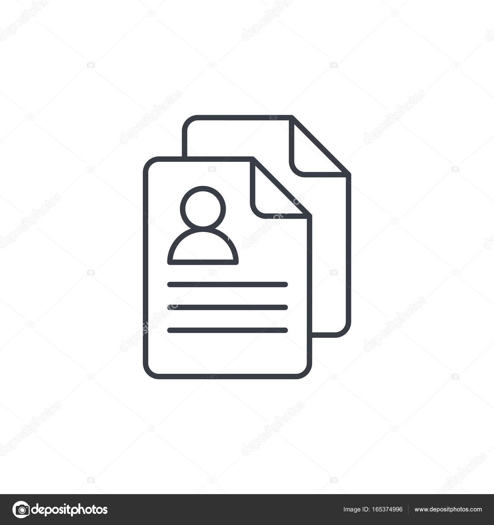 social-Media-Benutzerbild, Rekrutierung, Profil, Lebenslauf ...