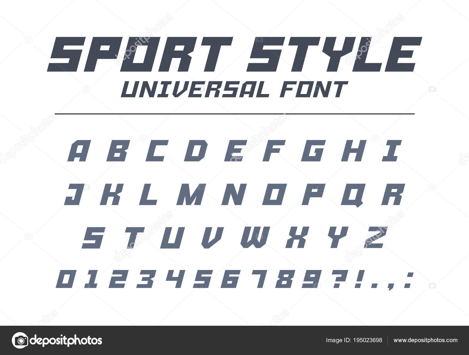 Sport Style Universal Font Type Fast Speed Futuristic Technology Future Alphabet Letters And Numbers For Military Industrial Electric Car Racing Logo