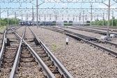 Fotografie Bahn für den Elektro-Zugverkehr