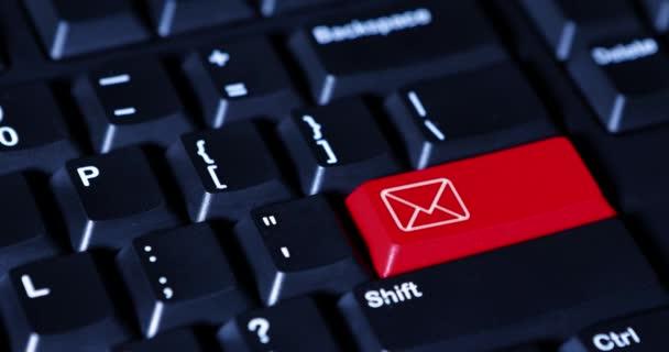 Ruční lisy email tlačítko na klávesnici