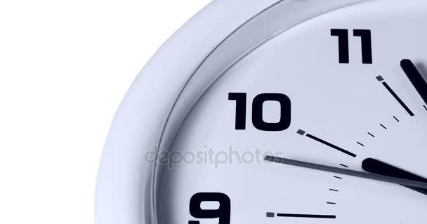 De Pared Reloj Mostrar Blanco W9IYEDH2