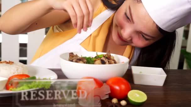 Šéfkuchaře, obloha Indonéské jídlo polévka z hovězí oháňky