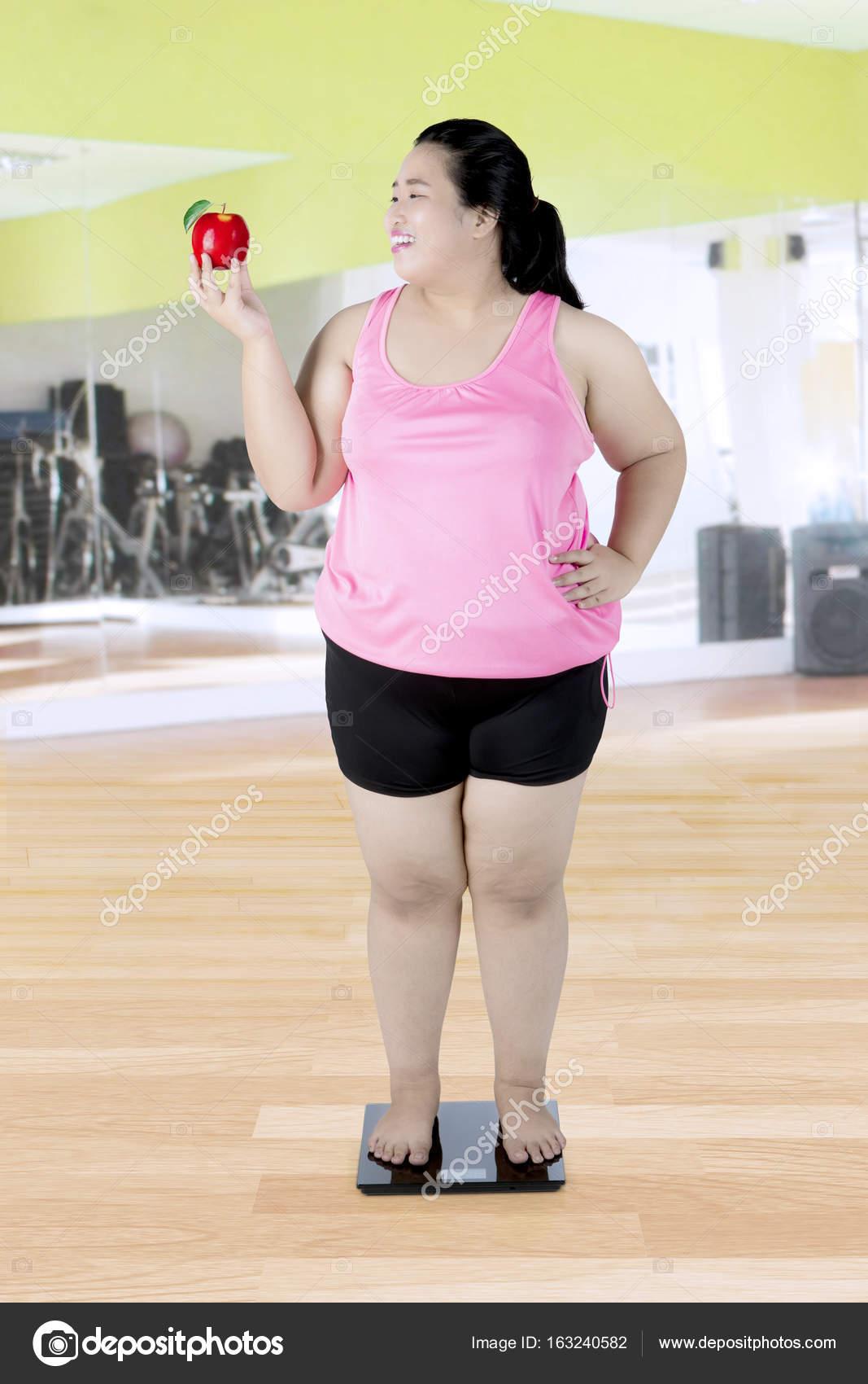 Dicke Im Fitnessstudio