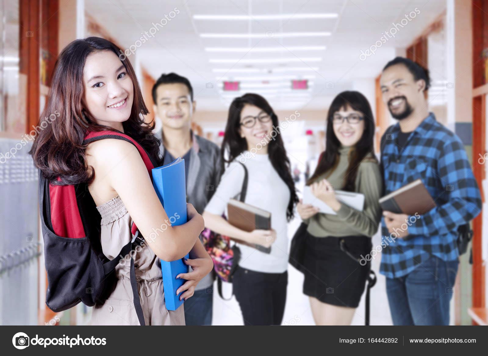 College Friend Meets Girl