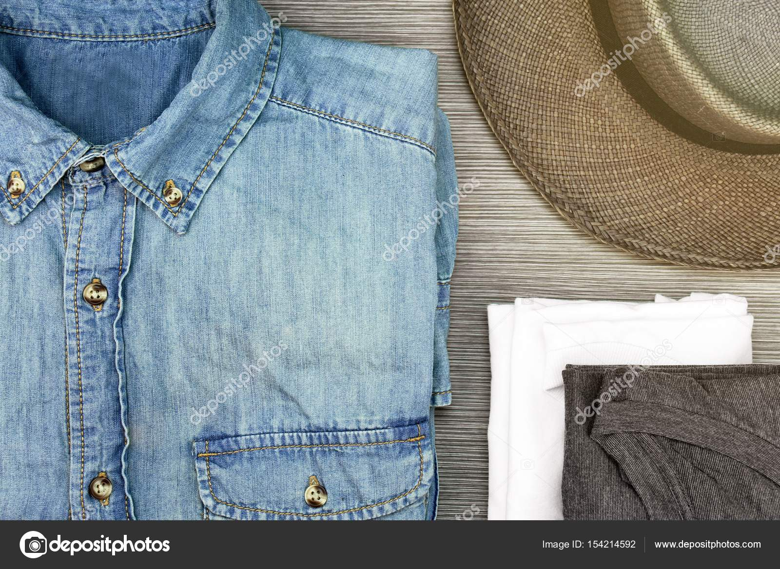 Jeans Overhemd Heren.Mannen Mode Smart En Casual Outfits Blue Jeans Overhemd T Shirt