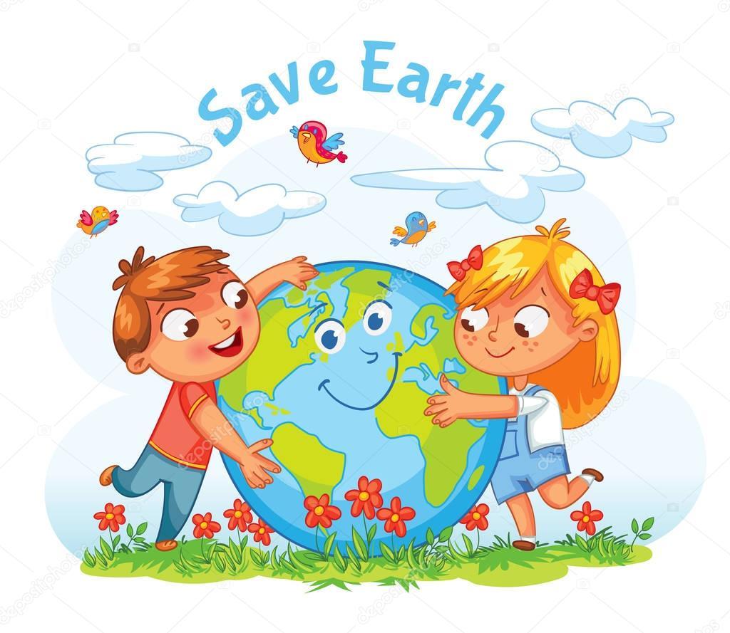 Dibujos: del planeta tierra para niños | Día de la tierra ...