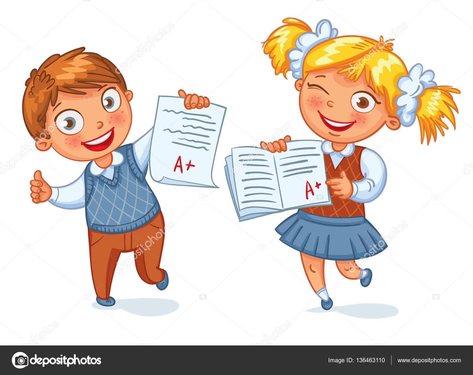 Imágenes: Animadas De Niños Dando Examen