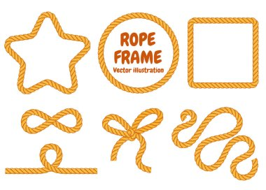 Different frame ropes