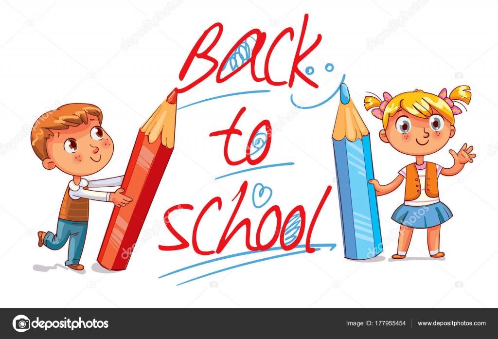 de vuelta a la escuela — Vector de stock © kharlamova_lv #177955454