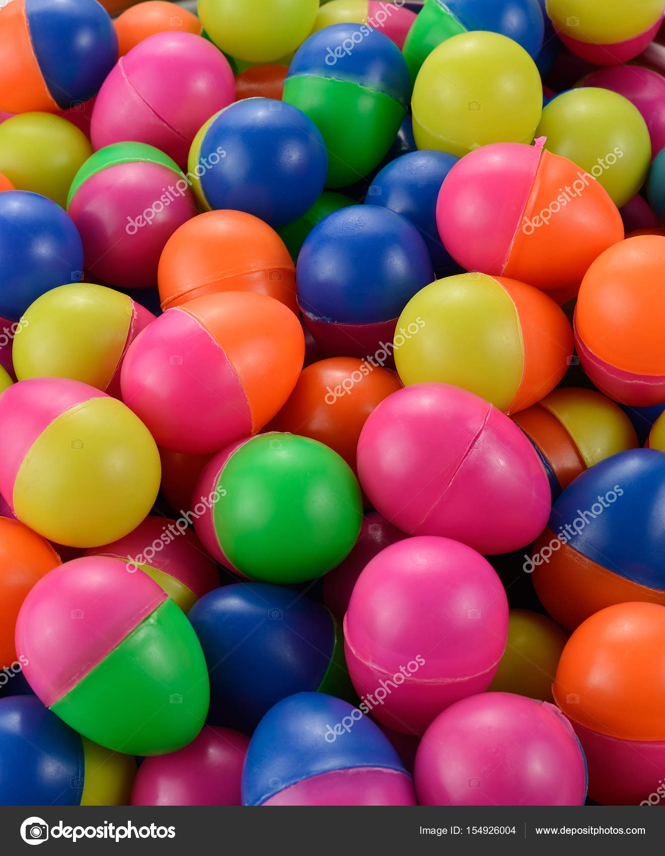 Colorful Candy Plastic Easter Eggs Photo By Big8183gmail