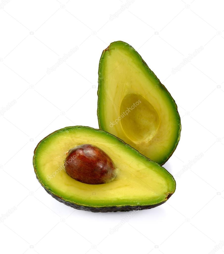 Fresh avocado isolated on whiteImage ID: 153176222