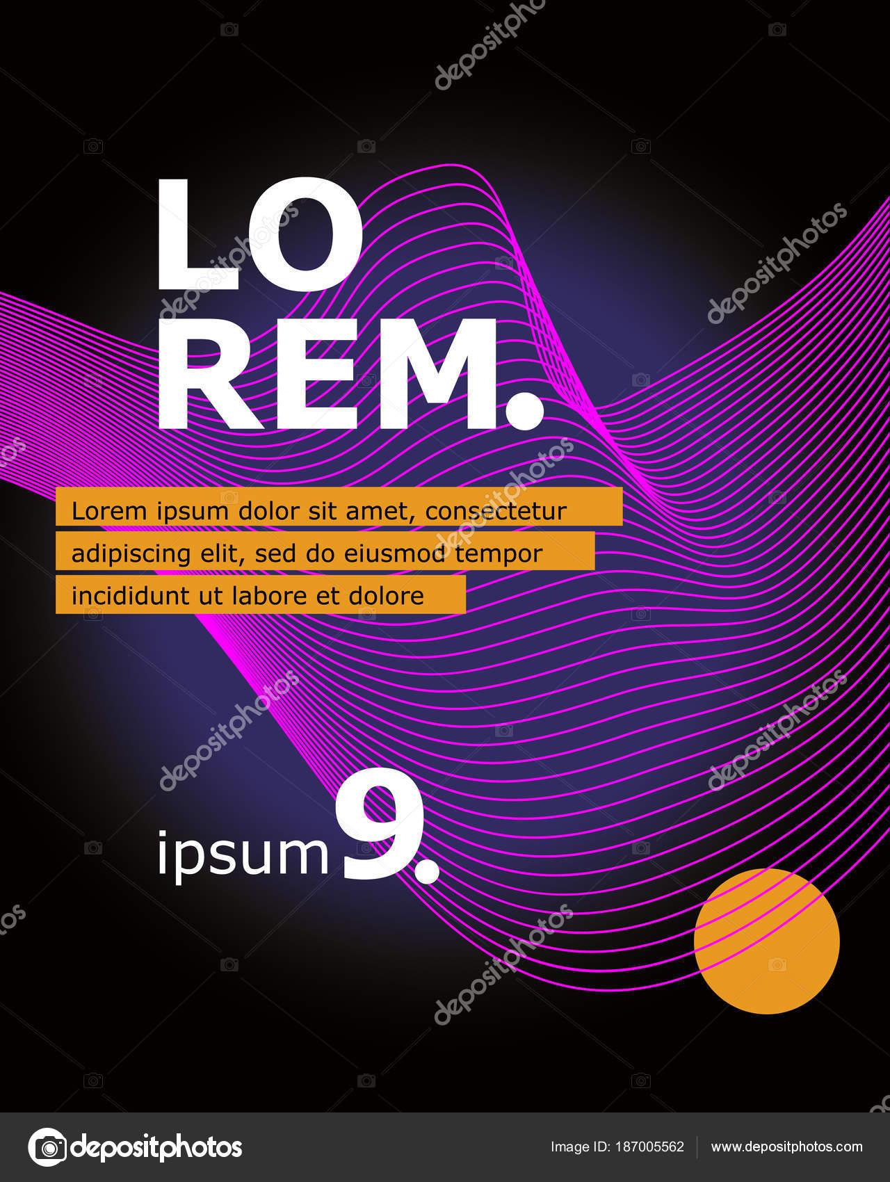 Satz von Broschüre, Geschäftsbericht, Flyer Design-Vorlagen mit ...