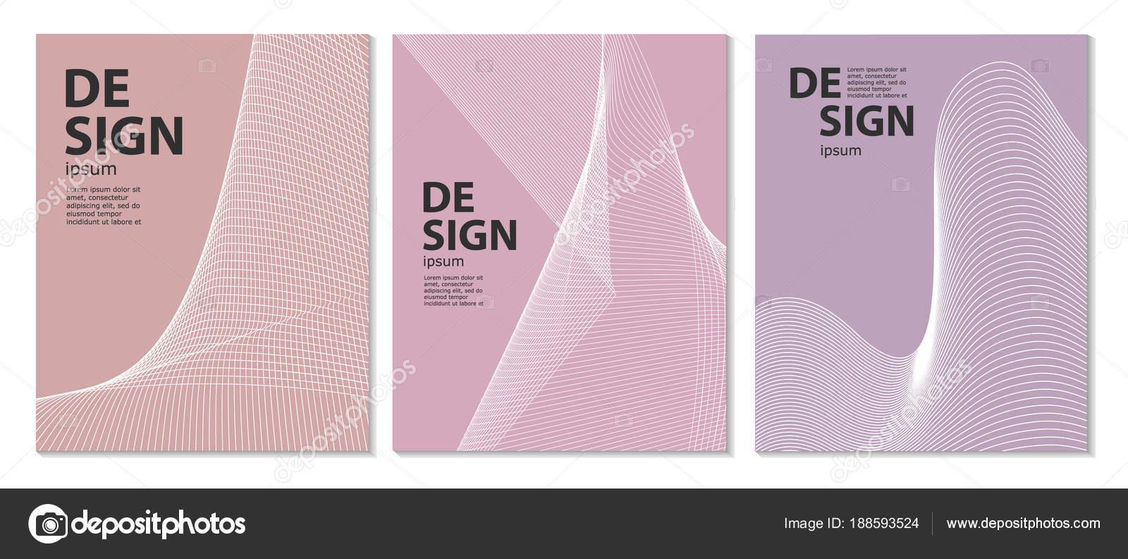 Resumen diseño de carteles. Conjunto de folletos, plantillas de ...