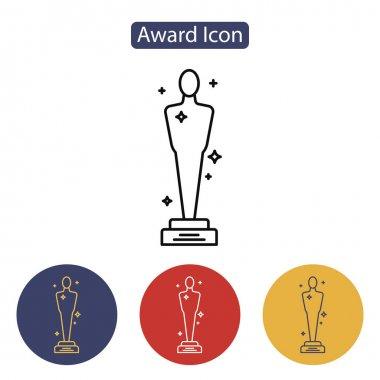 Vector Academy Awards icon.