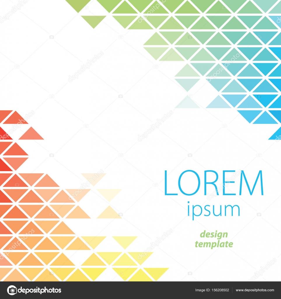 Diseño plantilla Lorem Ipsum Poster — Archivo Imágenes Vectoriales ...